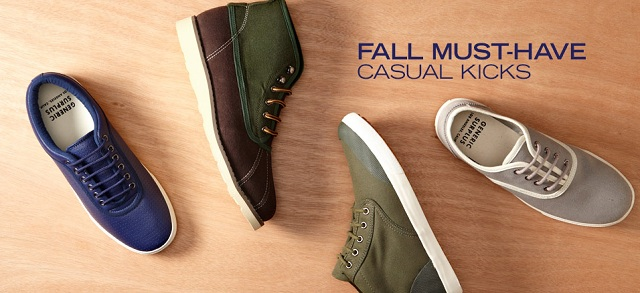 Fall Must-Have: Casual Kicks at MYHABIT