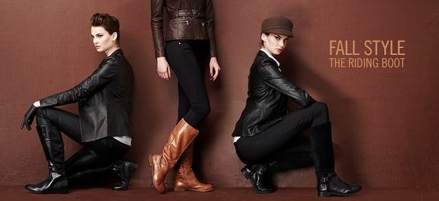 Fall Style: The Riding Boot at MYHABIT
