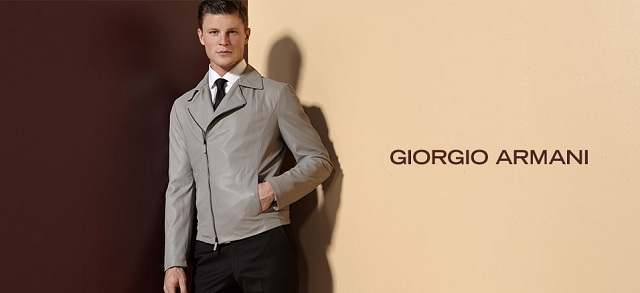 Giorgio Armani at MYHABIT