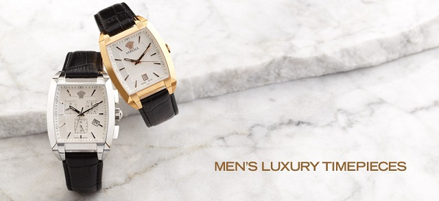 Men's Luxury Timepieces at MYHABIT
