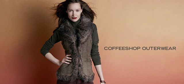 CoffeeShop Outerwear at MYHABIT