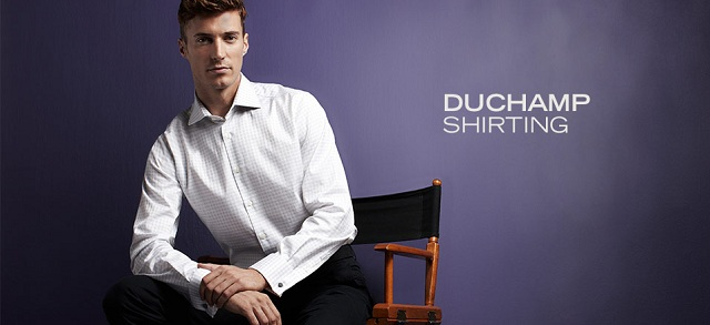 Duchamp Shirting at MYHABIT