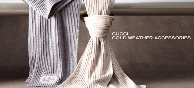 Gucci Cold Weather Accessories at MYHABIT