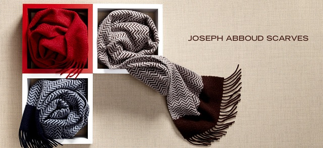 Joseph Abboud Scarves at MYHABIT