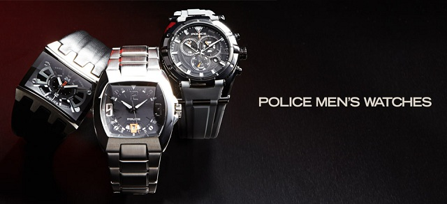 Police Men's Watches at MYHABIT