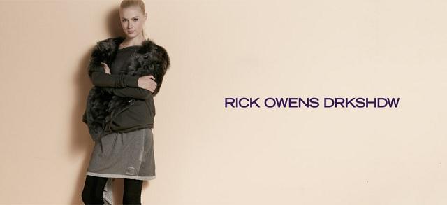 Rick Owens DRKSHDW at MYHABIT