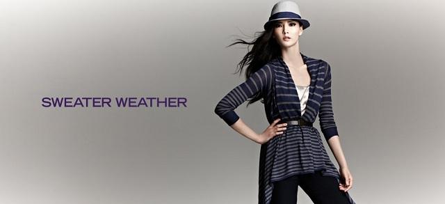 Sweater Weather at MYHABIT