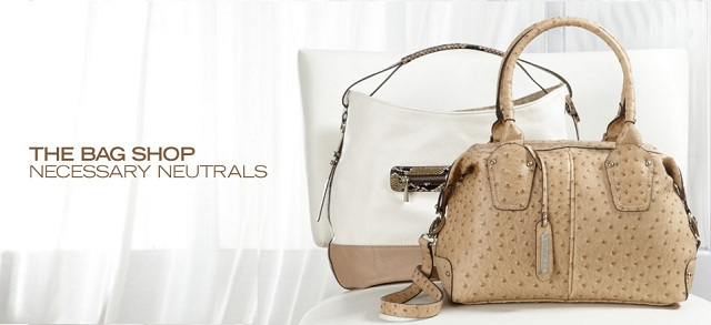 The Bag Shop: Necessary Neutrals at MYHABIT