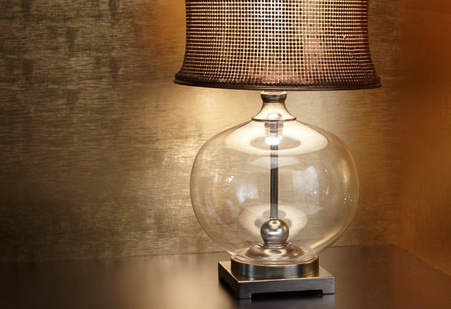 Uttermost Marcel Copper Table Lamp