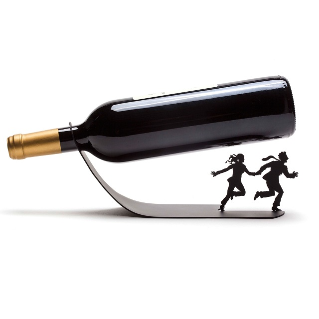 Wine Bottle Holder Wine For Your Life By Ori Niv