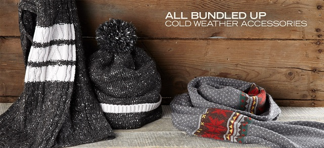 All Bundled Up: Cold Weather Accessories at MYHABIT