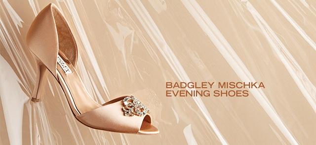 Badgley Mischka Evening Shoes at MYHABIT