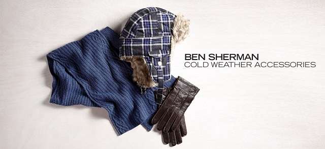 Ben Sherman Cold Weather Accessories at MYHABIT