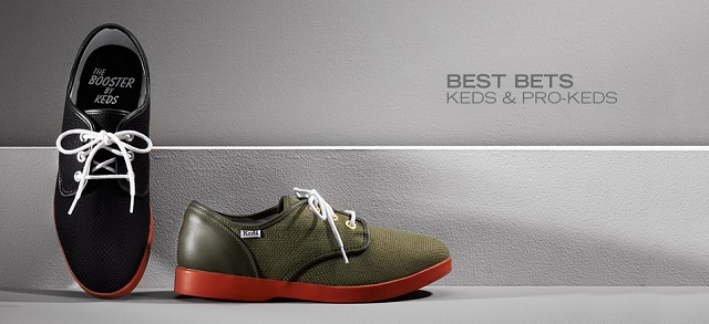 Best Bets: Keds & PRO-Keds at MYHABIT