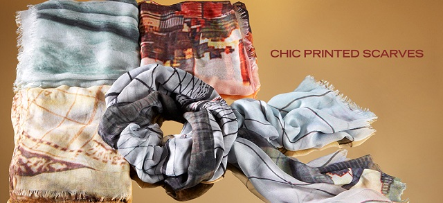 CHIC Printed Scarves at MYHABIT
