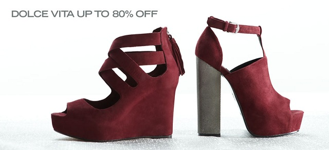 Dolce Vita up to 80% off at MYHABIT