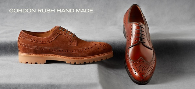 Gordon Rush Hand Made at MYHABIT