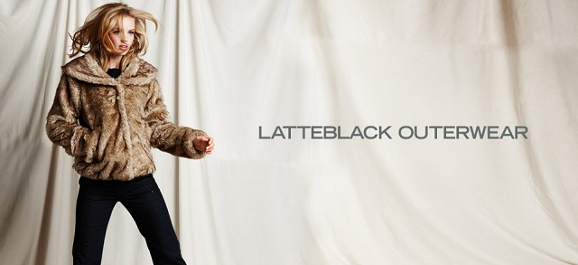 LatteBLACK Outerwear at MYHABIT