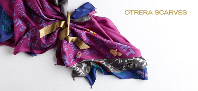 Otrera Scarves at MYHABIT