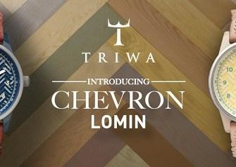 TRIWA Chevron Lomin Watches
