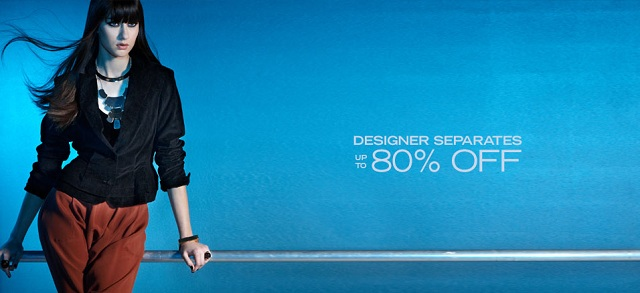 Up to 80% Off Designer Separates at MYHABIT