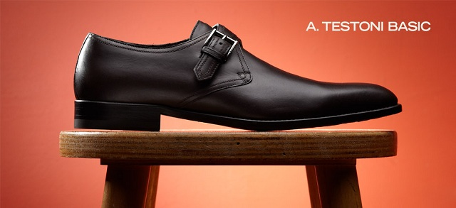 A. Testoni Basic Shoes at MYHABIT