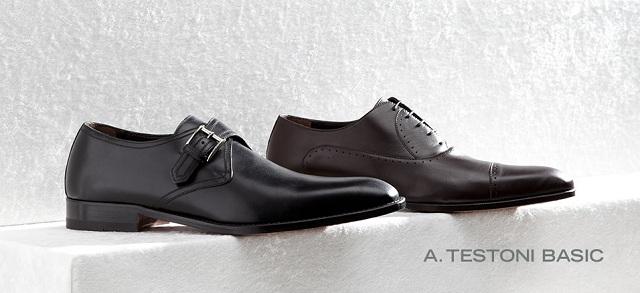 A. Testoni Basic Shoes at MYHABIT