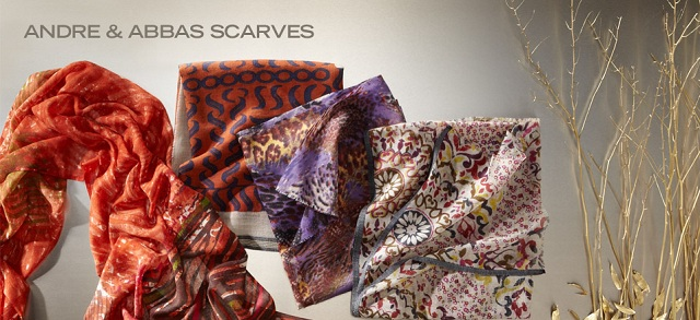 Andre & Abbas Scarves at MYHABIT