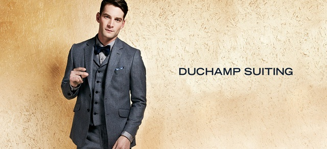 Duchamp Suiting at MYHABIT