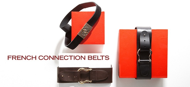 French Connection Belts at MYHABIT