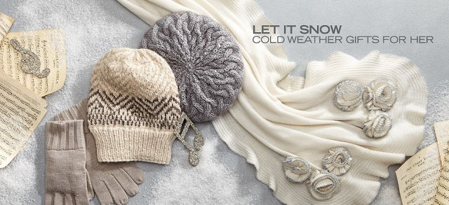 Let It Snow: Cold Weather Gifts for Her at MYHABIT
