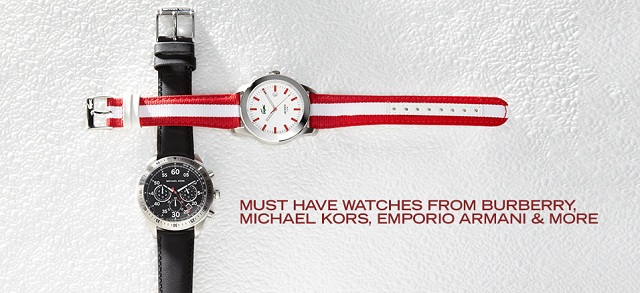 Must Have Watches from Burberry, Michael Kors, Emporio Armani & More at MYHABIT