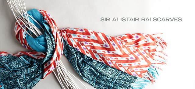 Sir Alistair Rai Scarves at MYHABIT