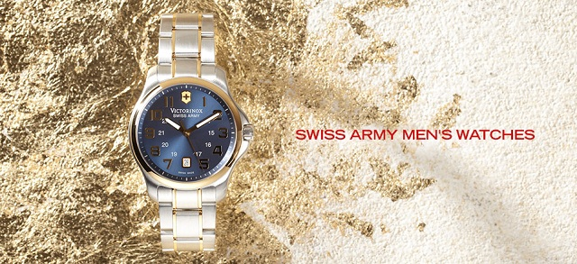 Swiss Army Men's Watches at MYHABIT