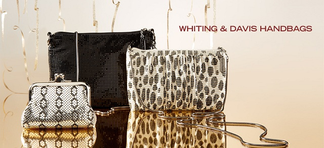 Whiting & Davis Handbags at MYHABIT
