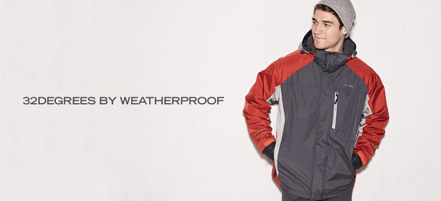 32degrees by Weatherproof at MYHABIT