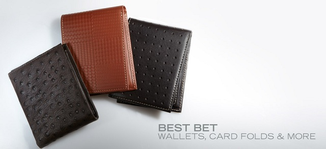 Best Bet: Wallets, Card Folds & More at MYHABIT