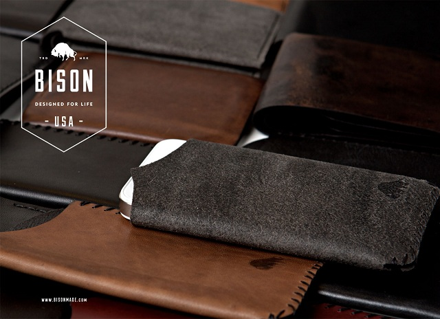 Bison Made Timeless Leather Wallets + Razor Strops
