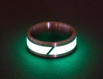 Best Deals: Black Badger Rings of Titanium & Carbon Fiber at TouchOfModern