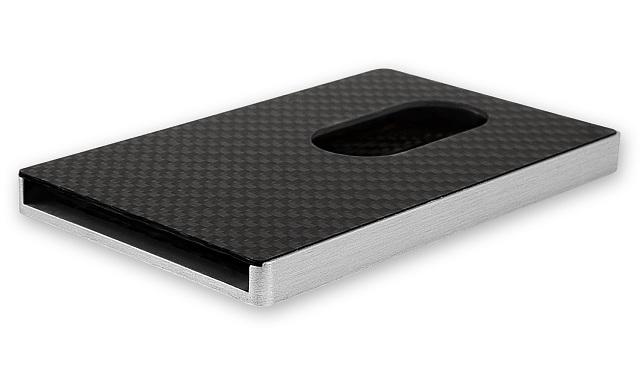 Cardissimo Carbon Fibre Card Case Gray_4
