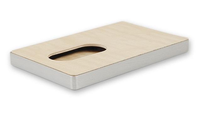Cardissimo Hardwood Card Case Flamed Maple_3