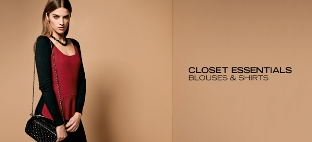 Closet Essentials: Blouses & Shirts at MYHABIT