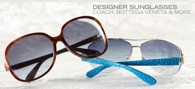 Designer Sunglasses: Coach, Bottega Veneta & More at MYHABIT