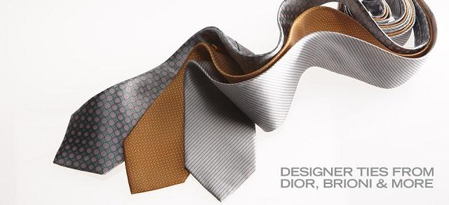 Designer Ties from Dior, Brioni & More at MYHABIT