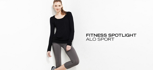 Fitness Spotlight: Alo Sport at MYHABIT