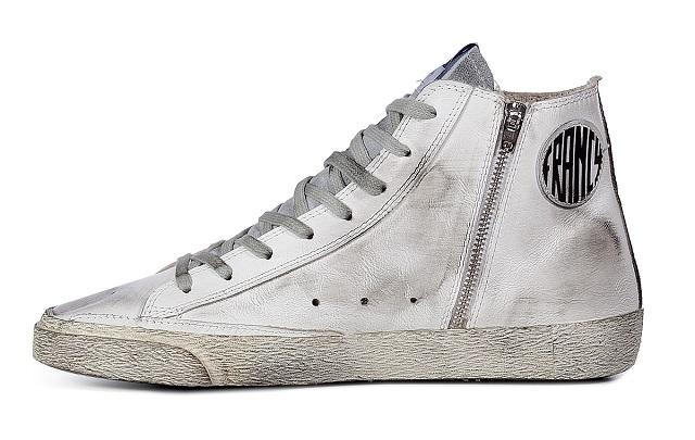 GOLDEN GOOSE Leather Francy Hi Sneakers_3