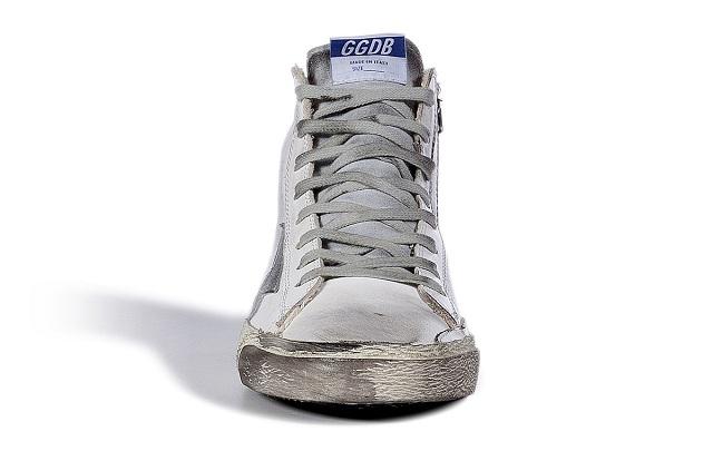 GOLDEN GOOSE Leather Francy Hi Sneakers_5