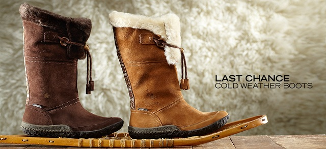 Last Chance: Cold Weather Boots at MYHABIT