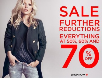 Best Deals: MANGO Sale. Everything at 50%, 60% and 70% off