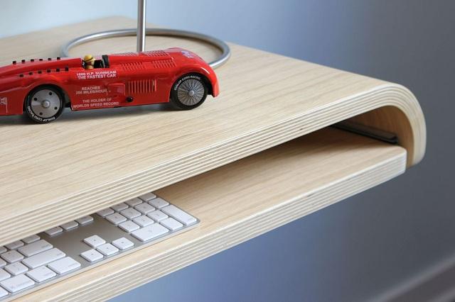 Minimal Float Wall Desk by Orange22 Design Lab_4